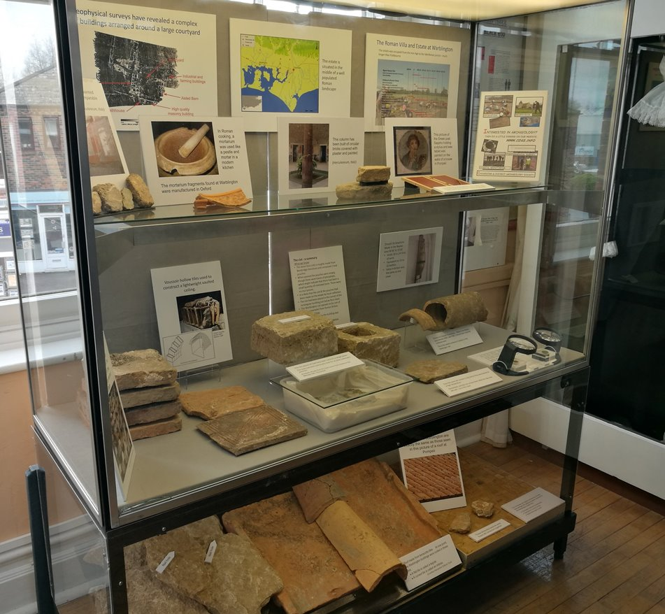 CDAS display at Emsworth Museum